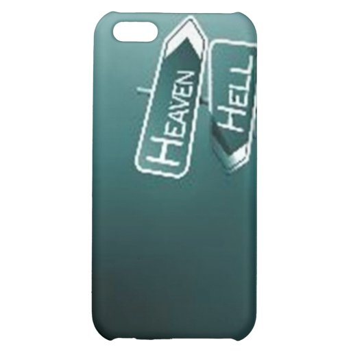 Heaven or Hell iPhone Cover iPhone 5C Cases