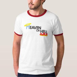 Heaven or Hell Ringer T-Shirt