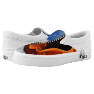 Heaven or Hell Slip-on Printed Shoes