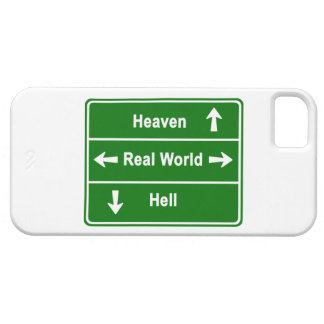 Heaven, real world & hell iPhone 5 case