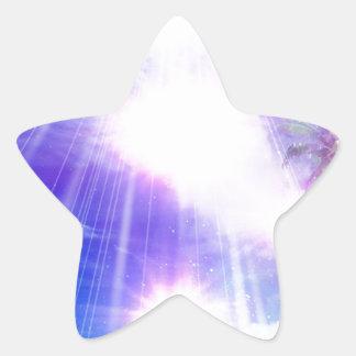 Heavenly Light 03 Star Sticker