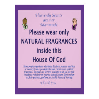 Heavenly Scent purple prayer 21.5 Cm X 28 Cm Flyer