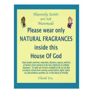 Heavenly Scent teal prayer Flyer