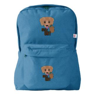 Heavy metal Puppy rock on Backpack