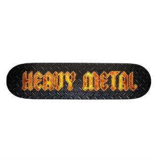 Heavy Metal Steel Skate Board