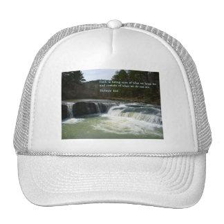 Hebrew 11:1  Waterfall Cap