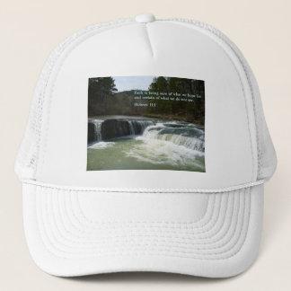 Hebrew 11:1  Waterfall Trucker Hat