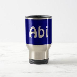 Hebrew Dad Travel Commuter Mug