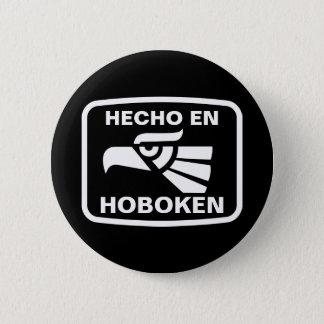 Hecho en Hoboken personalizado custom personalized 6 Cm Round Badge
