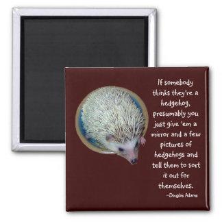 Hedgehog or Person magnet