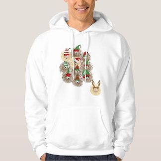 Hedgehogs Holiday Party Sweatshirt
