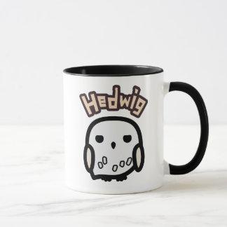 Hedwig Cartoon Character Art Mug