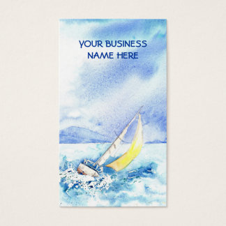 'Heeled Over' Business Card