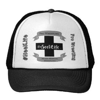 #HeelLife Iron Cross Mesh Hat