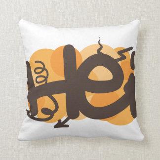 Hei in Finnish Pillow