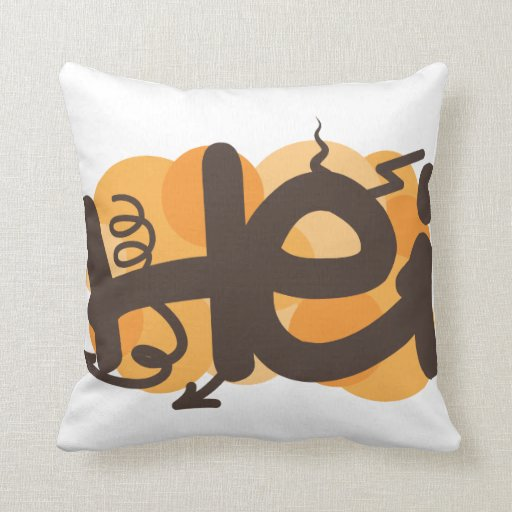 Hei in Finnish Pillow