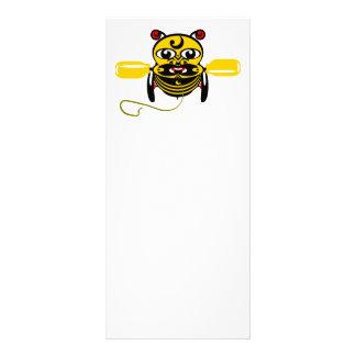 Hei Tiki Bee Toy Kiwiana Personalised Rack Card