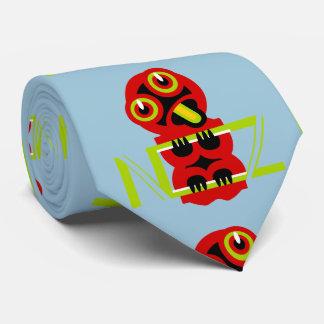 Hei Tiki Maori Design NZ Tie