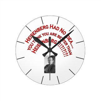 Heisenberg Clock