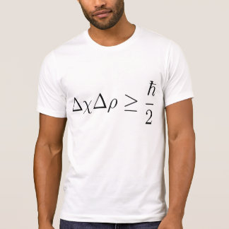 Heisenberg uncertainty principle 2 T-Shirt