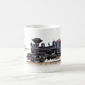 Heisler Logging Locomotive Coffee Mug