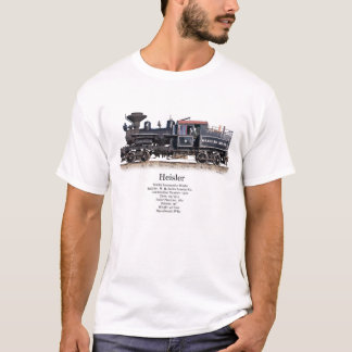 Heisler Logging Locomotive T-Shirt