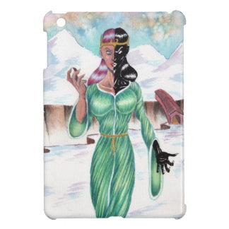 Hel, goddess of death case for the iPad mini