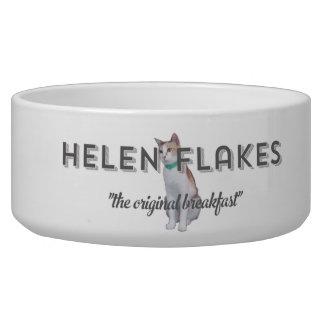 Helen Flakes large pet bowl