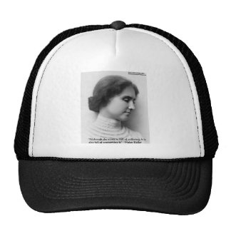 "Helen Keller ""Obstacles"" Wisdom Quote Gifts & Card Cap"
