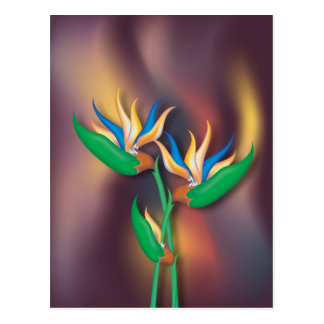 Heliconia Flowers Postcard