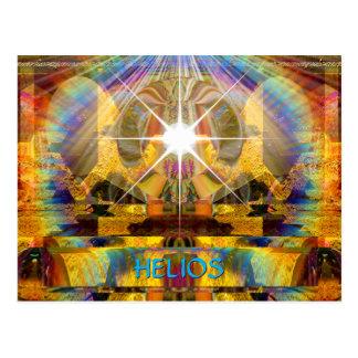 """Helios"" UV Art Postcard"