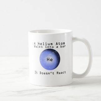 Helium Atom Walk Into A Bar It Doesn't React Coffee Mug