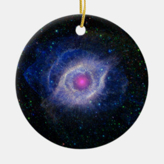 Helix Nebula Christmas Ornament
