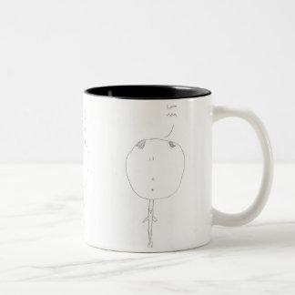 Hello Mom Mug by Owen W