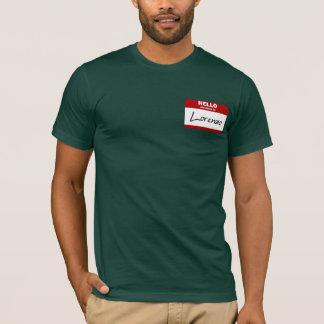 Hello My Name Is Lorenzo (Red) T-Shirt