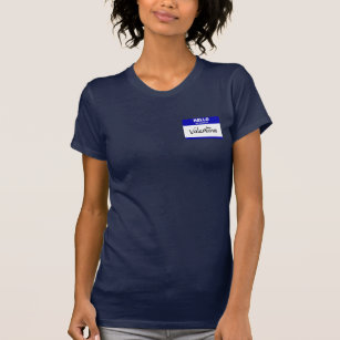 31f6dd83b Valentina T-Shirts & Shirt Designs | Zazzle.co.nz