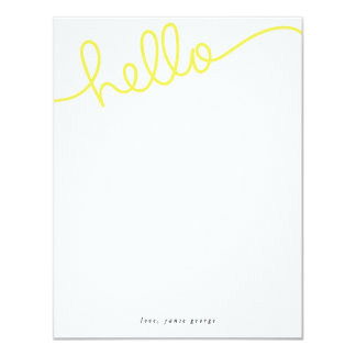 Hello Note Cards