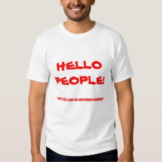 HELLO PEOPLE! SHIRTS