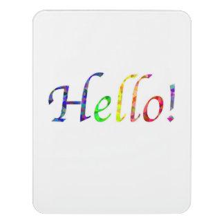 Hello! Room Sign