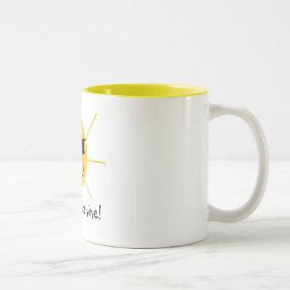 Hello, Sunshine! Two-Tone Mug