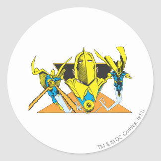 Helmet of Fate Classic Round Sticker