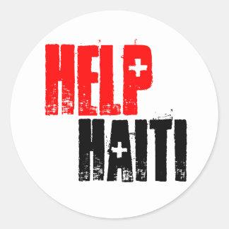 HELP HAITI STICKER