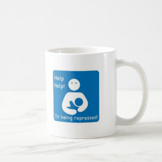 Help, Help! Basic White Mug