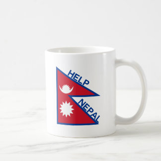 Help Nepal! Basic White Mug