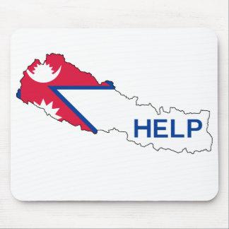 Help Nepal! Mouse Pad