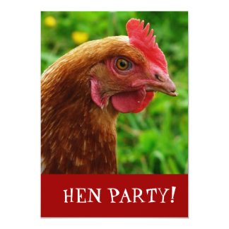 Hen Night Bachelorette Party Invite