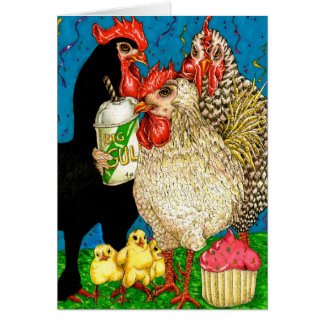 Hen Party-Card Greeting Card