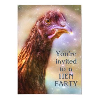 Hen Party Girl's Night Bachelorette Card