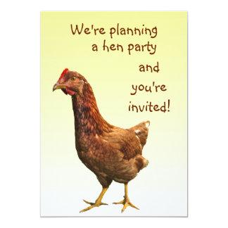 Hen Party Invitation