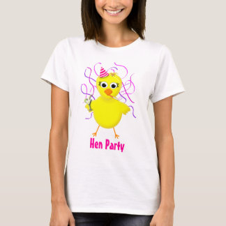 Hen Party - Maid of Honor  - Wedding Chick Shirt
